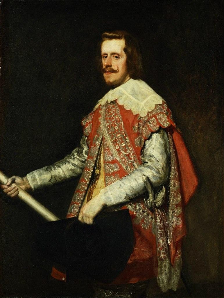 Диего Веласкес. Филипп IV во Фраге (город и муниципалитет в Испании),. 1644 год. Образ сурового Властителя и Самодержца.