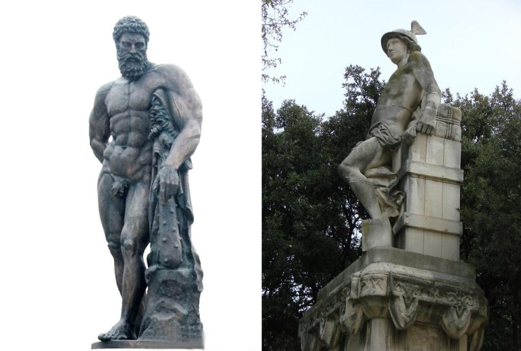 """Два мифических """"основателя"""" Барселоны - сын Зевса Геракл, постоянно впадавший в безумие, и бог-ловкач Гермес, без участия которого, по мнению каталонских предпринимателей, никак не объяснить неугасимое финансовое процветание Барселоны...."""