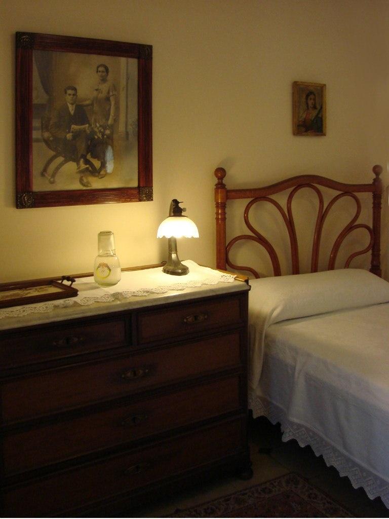 Каса Мила. Демонстрационная квартира, что оформлена в стиле 20-х годов XX века. Спальная комната...