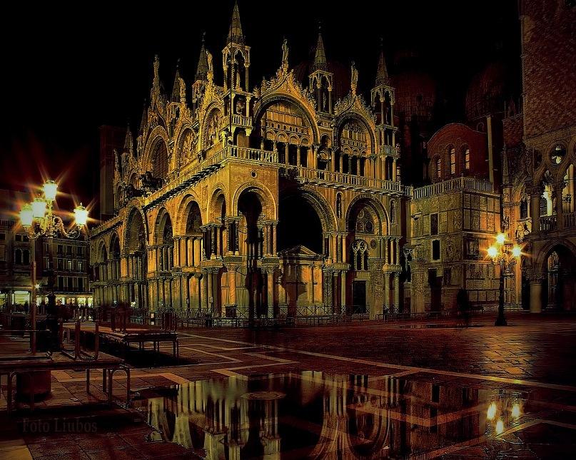 Портрет Венеции, во Тьме пребывающей, Смраде и Лжи...