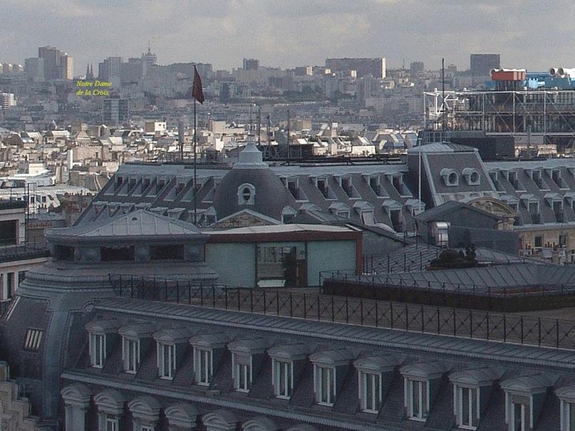 Круговая панорама Парижа. Фрагмент 1. Увеличение.