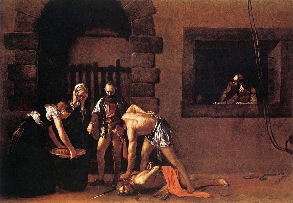 Караваджо «Усекновение главы Иоанна Крестителя». 1608. Собор Святого Иоанна, Ла-Валетта.
