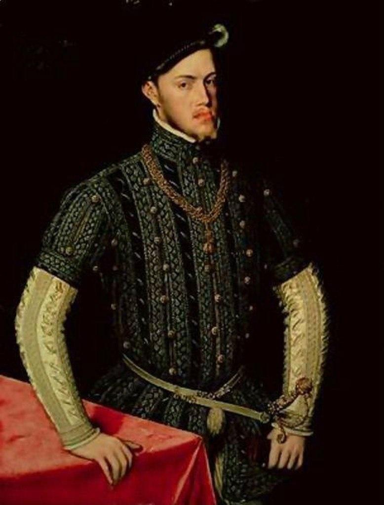 Филипп II (1527 — 1598) — король Испании из династии Габсбургов. Сын и наследник императора Священной Римской империи КарлаV