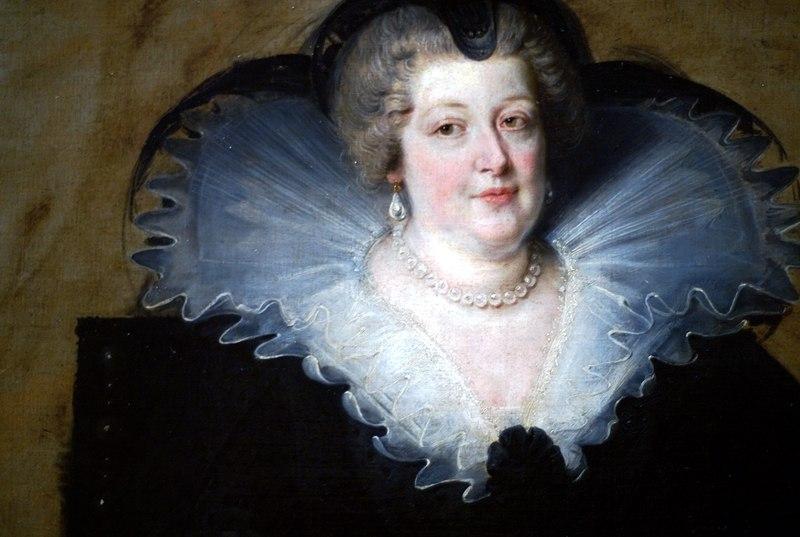 Питер Пауль Рубенс. Портрет Марии Медичи, королевы Франции. 1622. Прадо, Мадрид. Вплоть до своей смерти Рубенс хранил у себя эту картину как напоминание о покровительнице.
