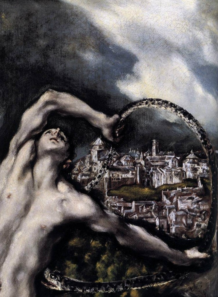 Эль Греко. «Лаокоон» 1610 - 1614