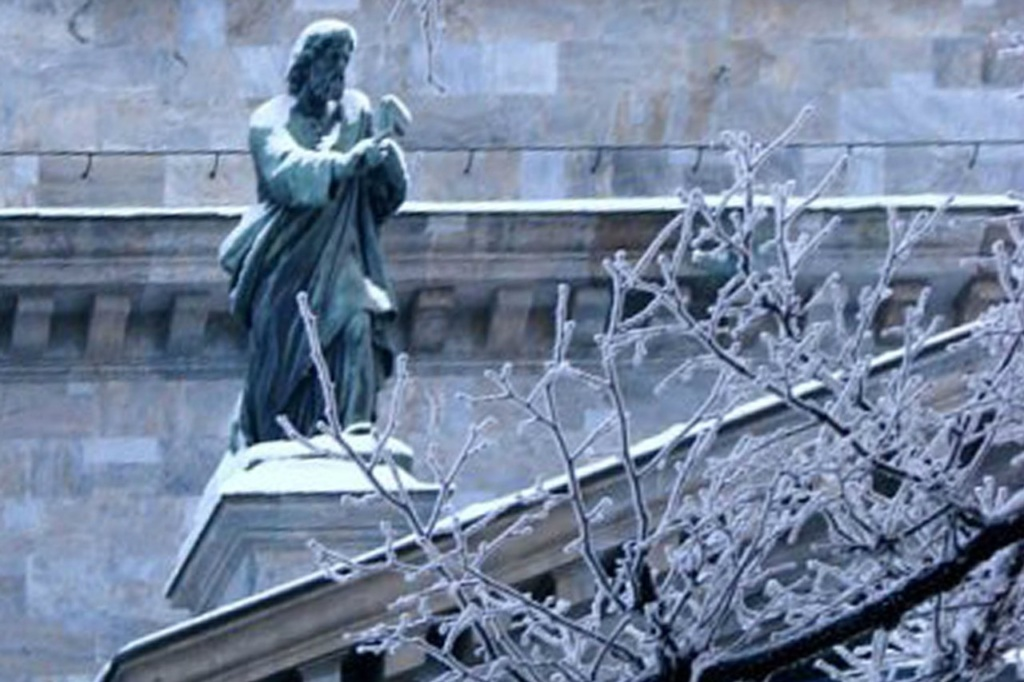 Исаакиевский собор. Арх. О. Монферран. 1818-1858. Скулптурное оформление - ск.: И. П. Витали, И. Герман.