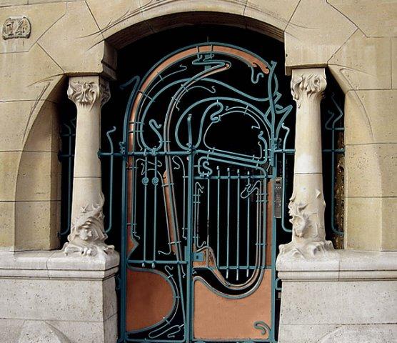"""""""Кастель Беранже"""". Париж. 16 улица Ла Фонтен.  Арх. Эктор Гимар. 1894 - 1898"""