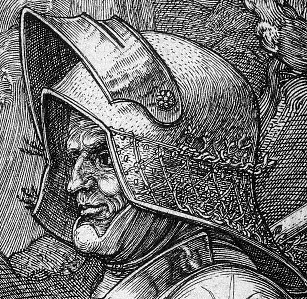 Альбрехт Дюрер. Портрет воина