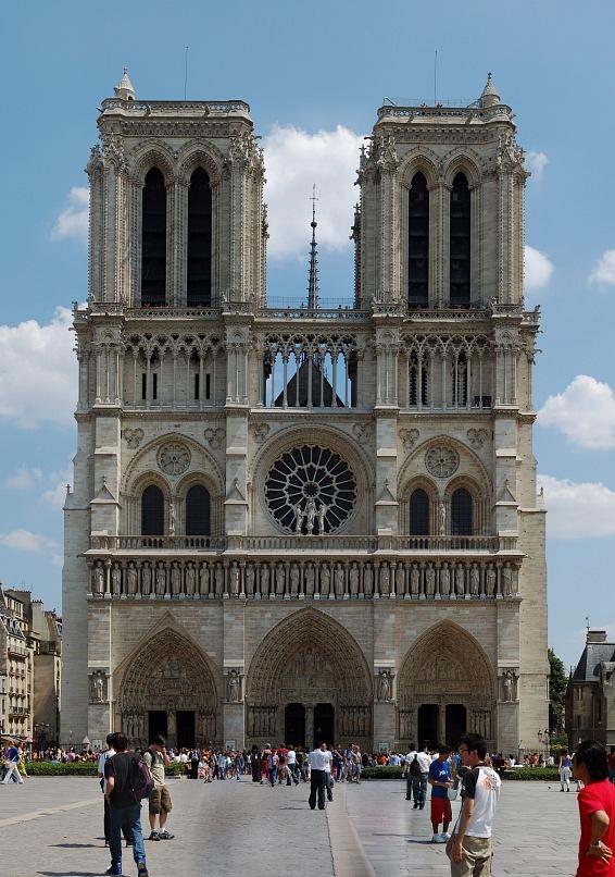 Собо́р Пари́жской Богома́тери (Нотр-Дам-де-Пари)— «сердце» Парижа. Расположен в восточной части острова Ситэ на месте первой христианской базилики Святого Стефана, построенной, в свою очередь, на месте галло-римского храма Юпитера.