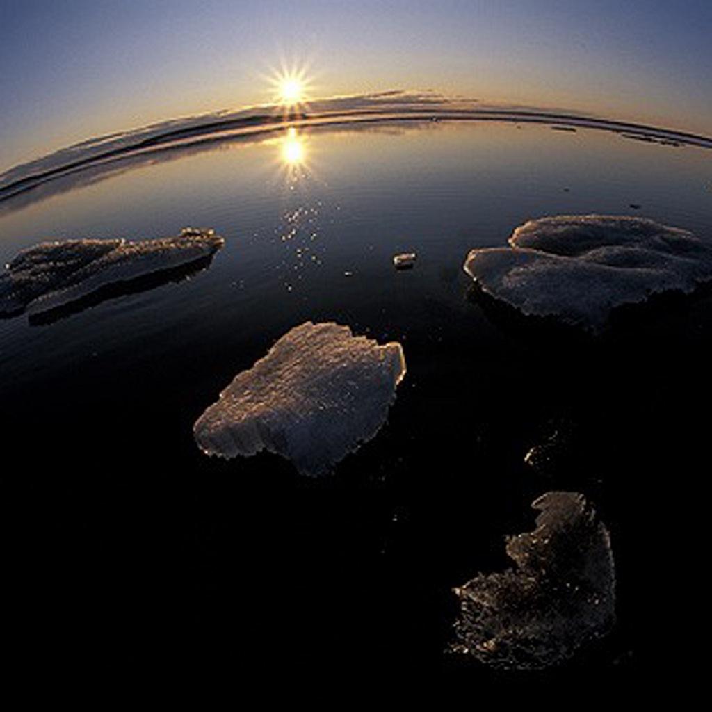 Граница Северного Ледовитого океана со стороны материка