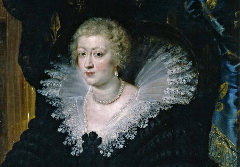 Питер Пауль Рубенс Портрет Анны Австрийской, королевы Франции. 1645. Прадо, Мадрид.