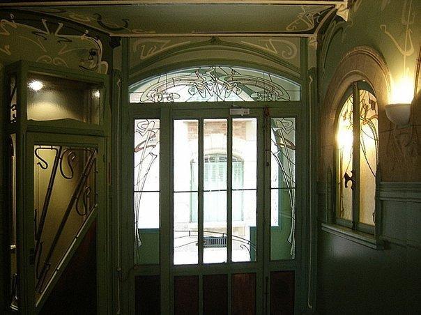 """""""Кастель Беранже"""". Париж. 16 улица Ла Фонтен. Арх. Эктор Гимар."""