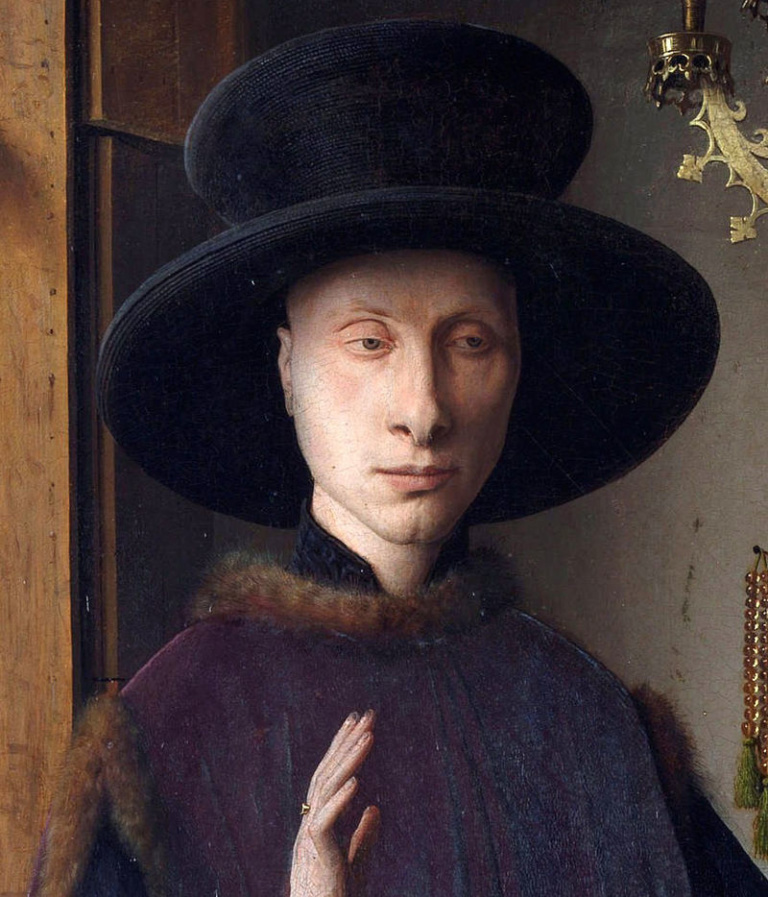 jan van eyck essay Man in a turban jan van eyck man in a turban jan van eyck the 3/4 profile view remains the standard portrait pose in modern art while jan could have taken some.