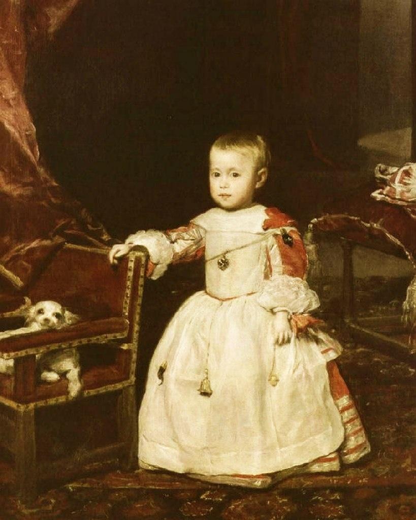 6 ноября 1661 рождается Карлос - младший брат инфанты Маргариты, но радости семье Филиппа IV это не приносит...