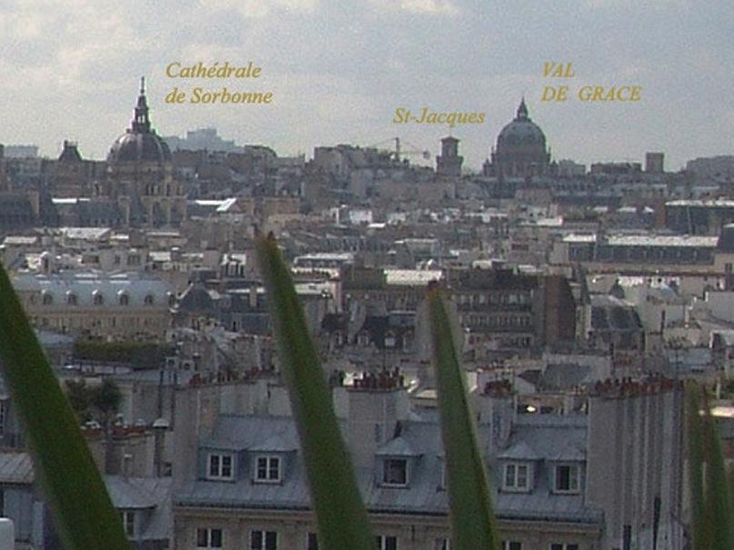 Круговая панорама Парижа. Фрагмент 3. Увеличение.