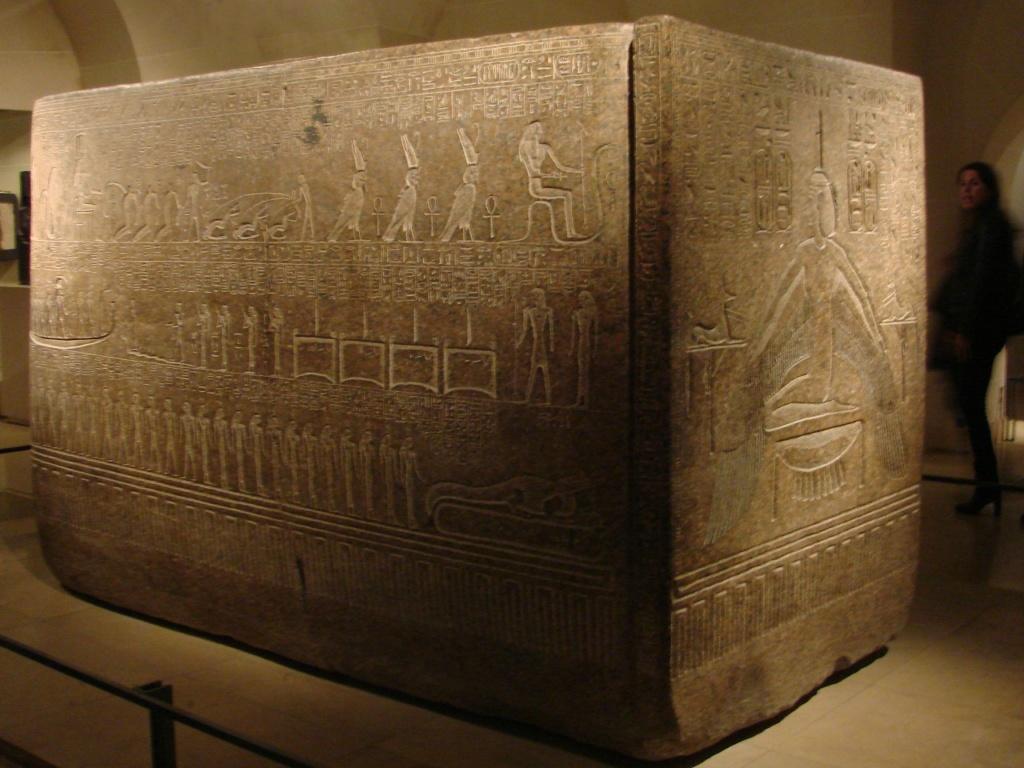 Саркофаг из гробницы Рамсеса III. XX династия. Новое царство.