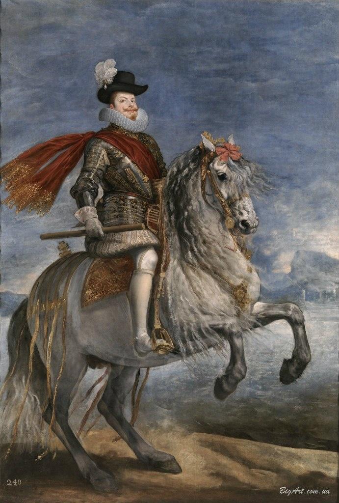 Диего Веласкес. Конный портрет Филиппа III.