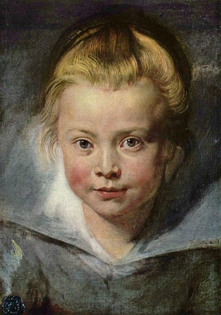 Питер Пауль Рубенс - Портрет Клары Серены (его дочери от. Изабеллы Брант - первой музы и жены художника) .1615-16.