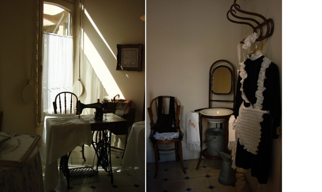 Каса Мила. Демонстрационная квартира, что оформлена в стиле 20-х годов XX века. Хозяйственное помещение для горничной...