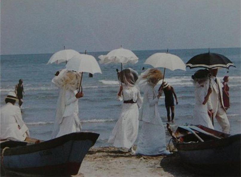 """Фильм Лукино Висконти """"Смерть в Венеции"""". Сцена купания..."""