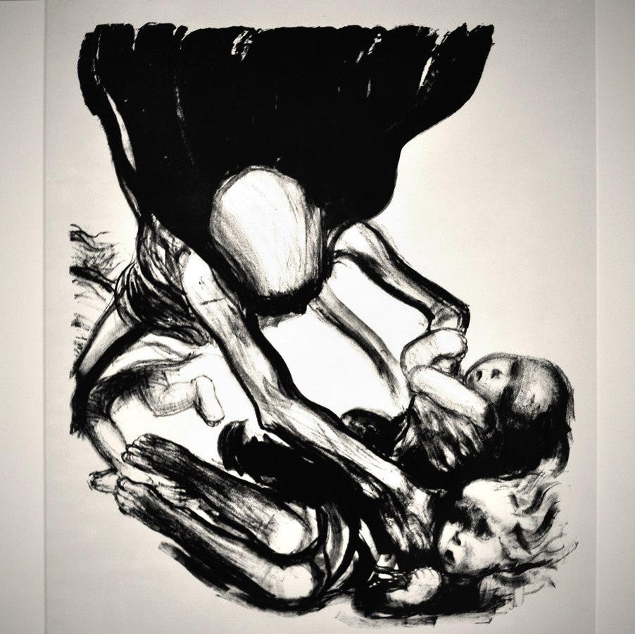 """Кете Кольвиц. Листы из цикла """"Смерть"""". 1934 - 1935."""