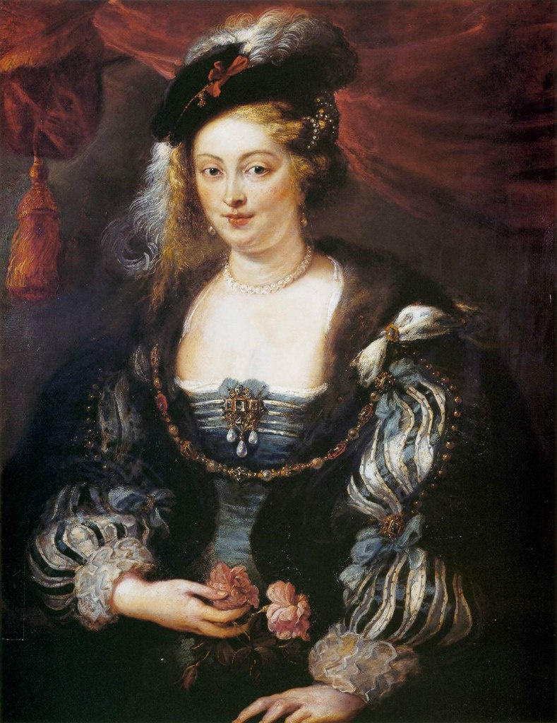Питер Пауль Рубенс. Портрет Елены Фоурмен (его музы и второй жены). Около 1630 года. Гаага. ДЛЯ РУБЕНСА ЖЕНЩИНА - ДРАГОЦЕННОСТЬ, ДОСТОЙНАЯ САМОГО ИЗЫСКАННОГО ОБРАМЛЕНИЯ.