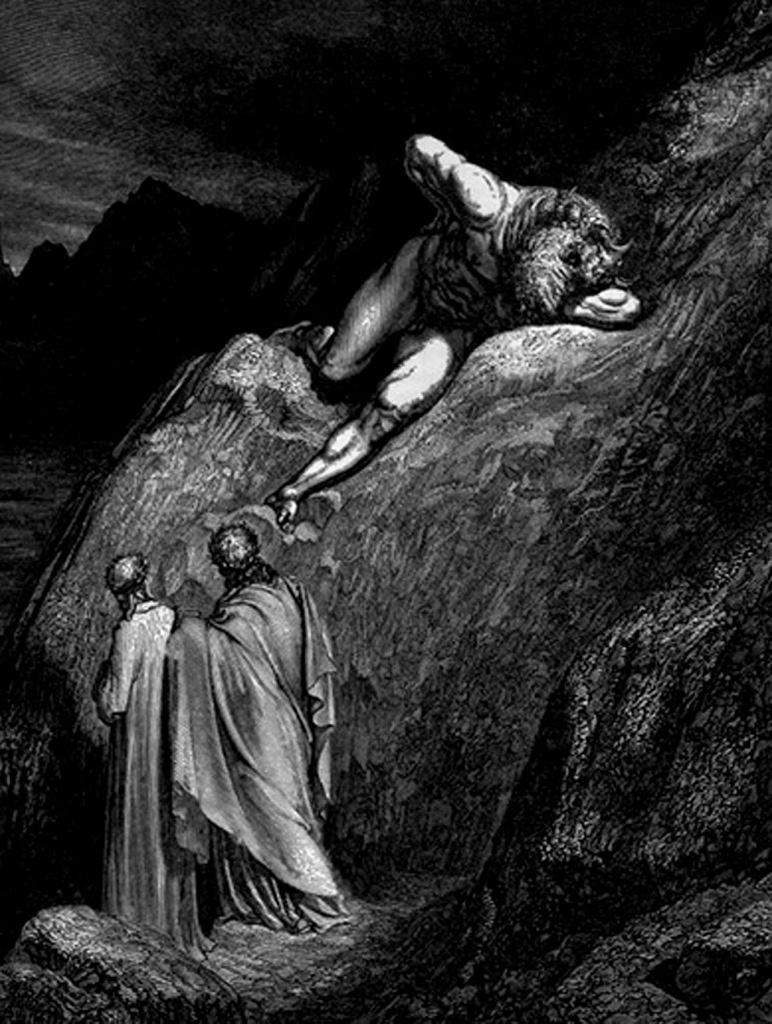 """Гравюры Г. Доре к """"Божественной комедии"""" Данте. (Inferno). 1860-е годы Минотавр из Критского лабиринта тоже вне всяких сравнений..."""