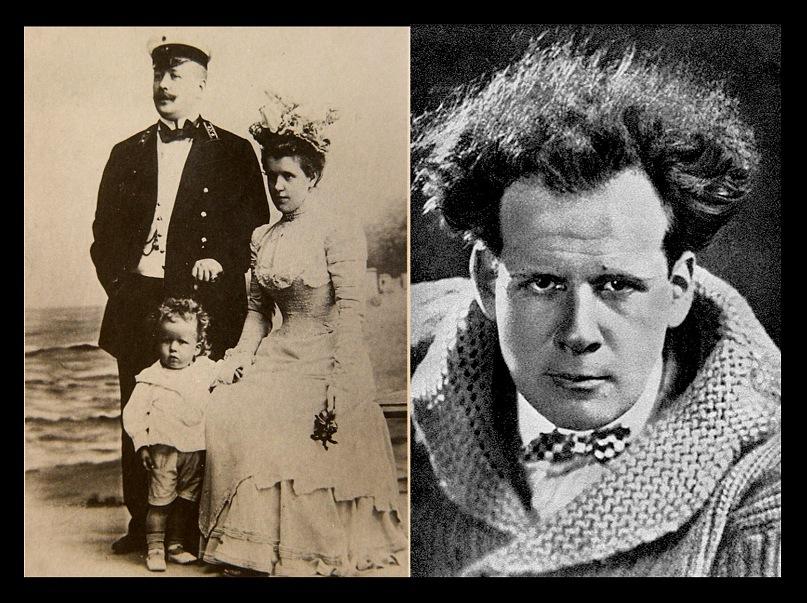 Отец и сын Эйзенштейны. Михаил Осипович Эйзенштейн (1867 - 1921). Умер в 54 года. Сергей Михайлович Эйзенштейн (1898 - 1948). Умер в 50 лет