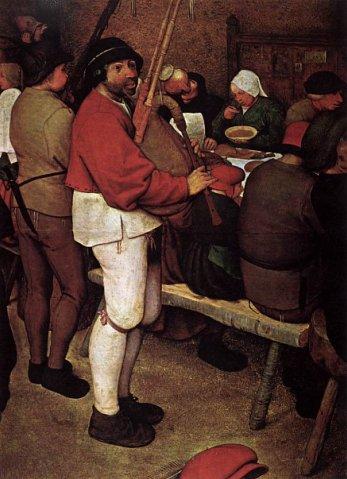 Питер Брейгель Старший. Крестьянская свадьба. 1568. Музей истории искусств, Вена.
