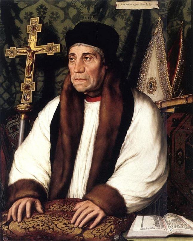 Ганс Гольбейн Младший. Портрет Уильяма Вархэма, Архиепископа Кентерберийского. 1527