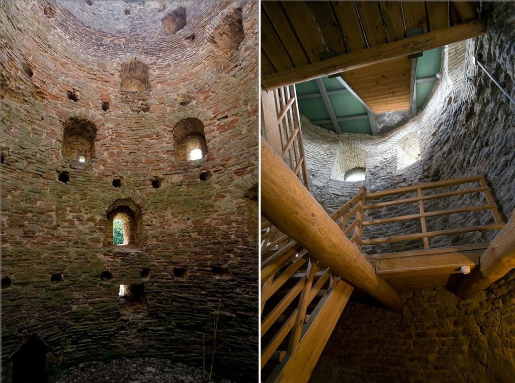 Башни Ибоской (вторая - Псковская) из пяти ярусов для ведения боя