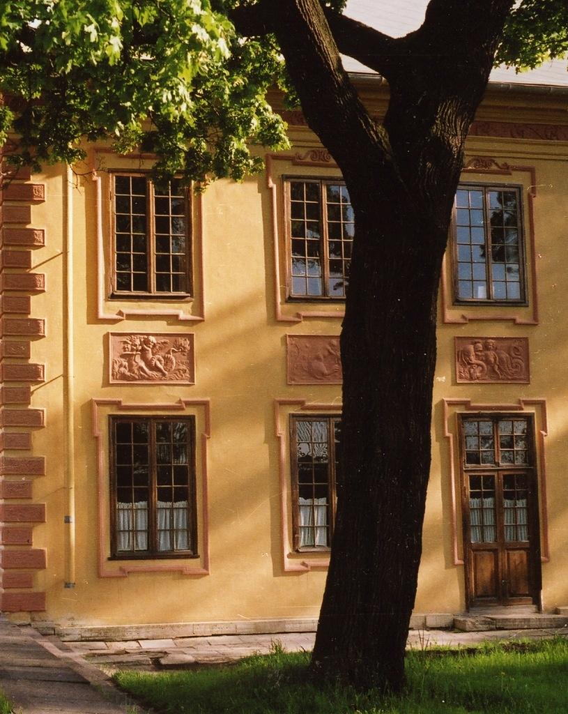 Петербург. Летний сад. Ле́тний дворе́ц Петра́ I.  Архитектор Доменико Трезини. 1710—1714