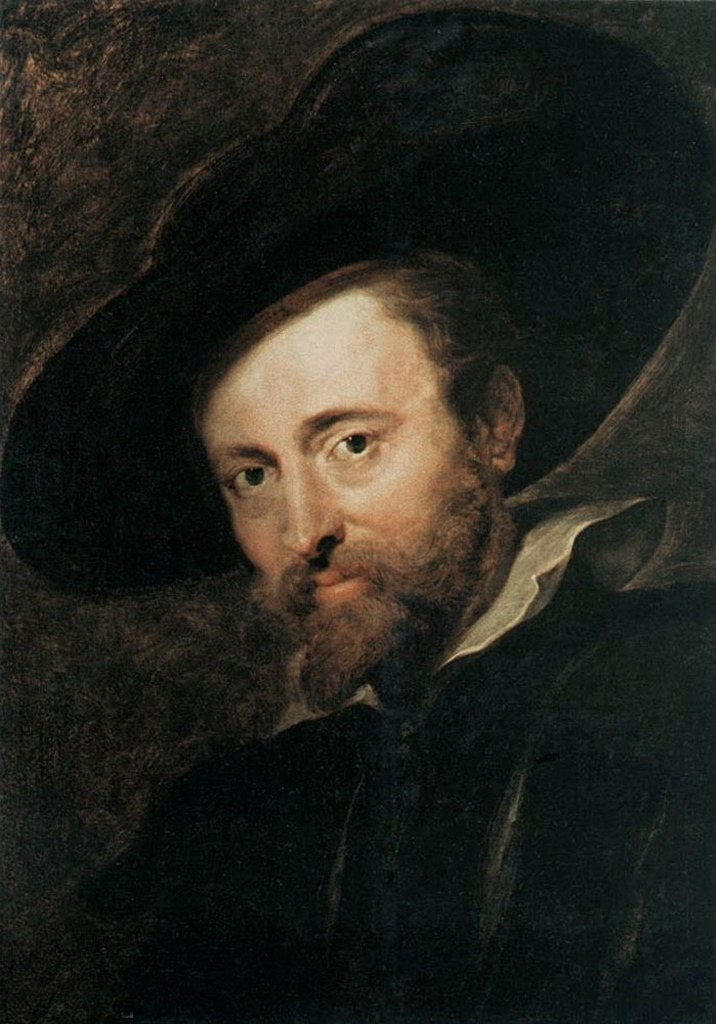Питер Пауль Рубенс. Автопортрет. 1628-30 г.г. Дом Рубенса, Антверпен