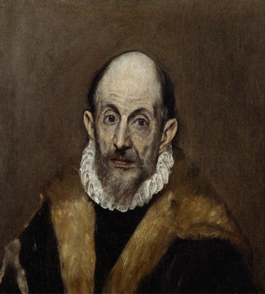 Последний, предположительно, автопортрет Эль Греко.