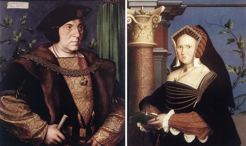 Ганс Гольбейн Младший. Портрет сэра Генри Гилдфорда. 1527. Ганс Гольбейн Младший. Портрет леди Мэри Гилдфорд. 1527.