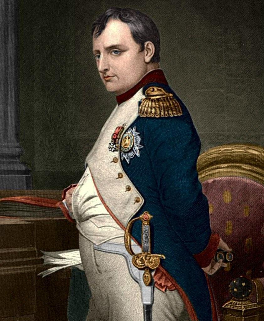 Наполео́н I Бонапа́рт (1769, Аяччо, Корсика — 1821, Лонгвуд, остров Святой Елены) — император Франции в 1804—1815 годах, Наполеон - великий французский полководец и государственный деятель, заложивший основы современного французского государства