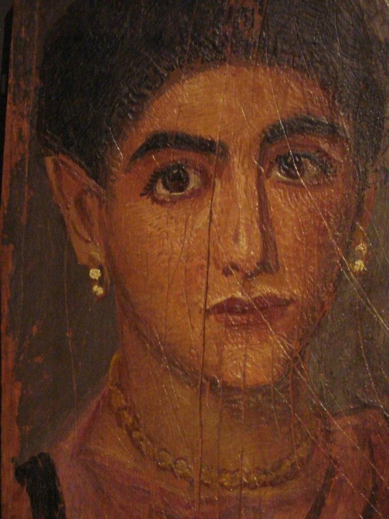 Портреты из Фаюмской коллекции, хранящейся в Лувре. Фаюмский портрет - настоящее чудо в истории искусства.