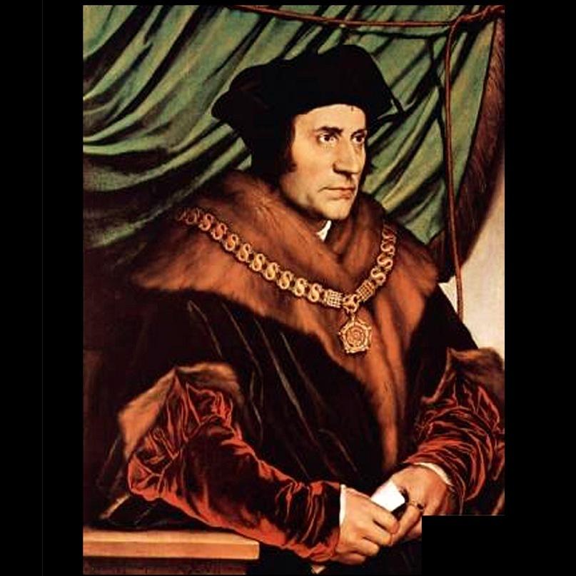 Ганс Гольбейн Младший. Портрет Томаса Мора. 1527.