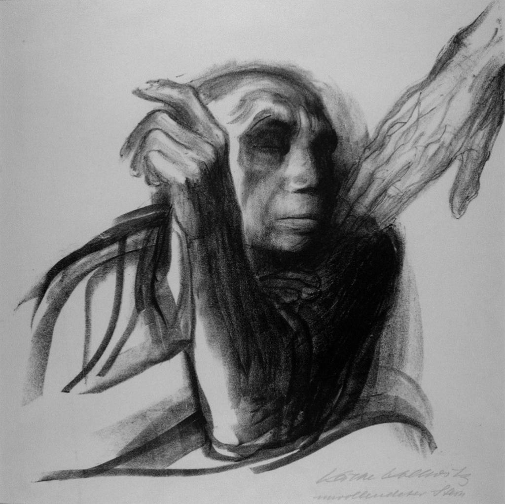 """Кете Кольвиц. Листы из цикла """"Смерть"""". 1934 - 1935. """"Зов Смерти""""..."""