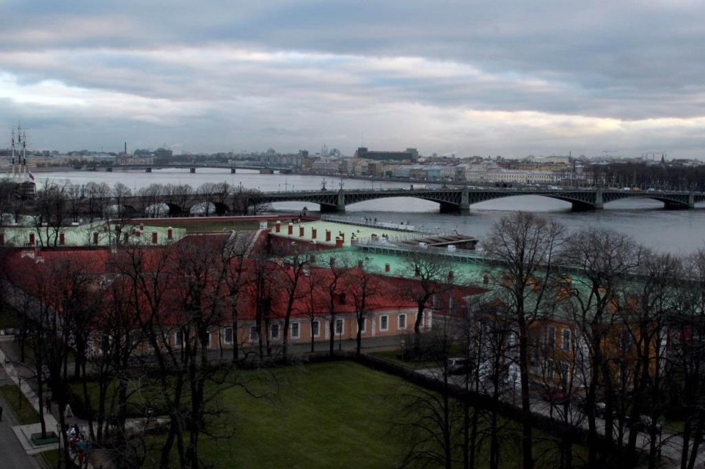 Отчет: состояние Петербурга на 27 ноября 2012 года. Вид на Троицкий мост.