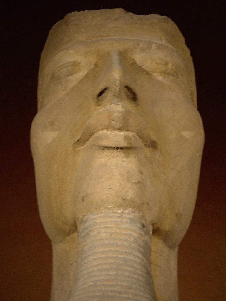 Аменхотеп IV - Эхнатон (1375 — 1336 годы до н. э.), из XVIII династии, выдающийся политик, знаменитый религиозный реформатор. Правил Египтом в 1353 — 1336 годы до н. э..