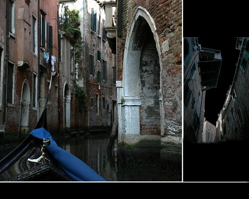 """Венецианские """"недра"""", через которые плывет изысканная гондола, разбирающимся в формах эстетам """"черный гроб"""" напоминающая..."""