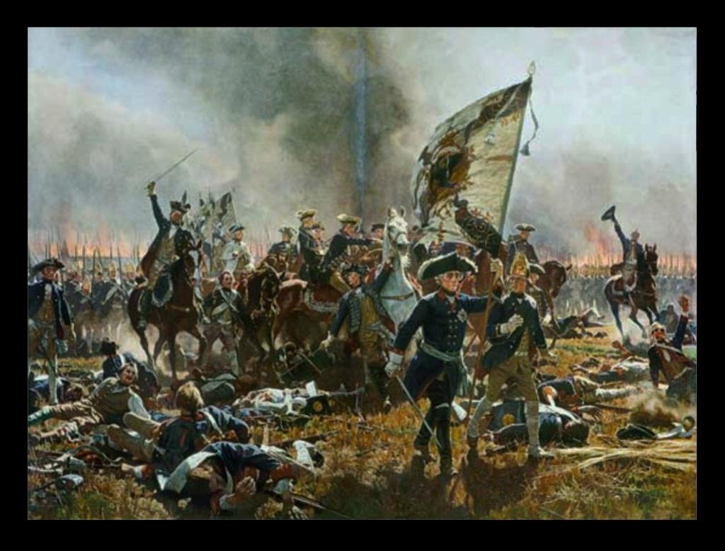 Будучи уже старым и уставшим человеком, Фридрих всегда ходил в бой со своим войском... Почему он это делал? Считал, что долг чести превыше всего?