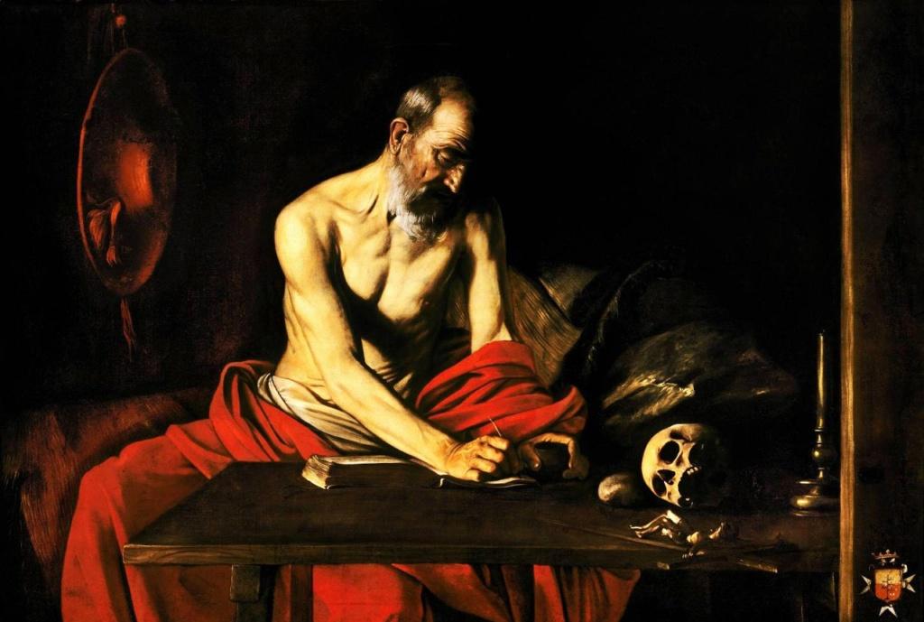 """Караваджо """"Святой Иероним"""". 1609. Мальта..."""