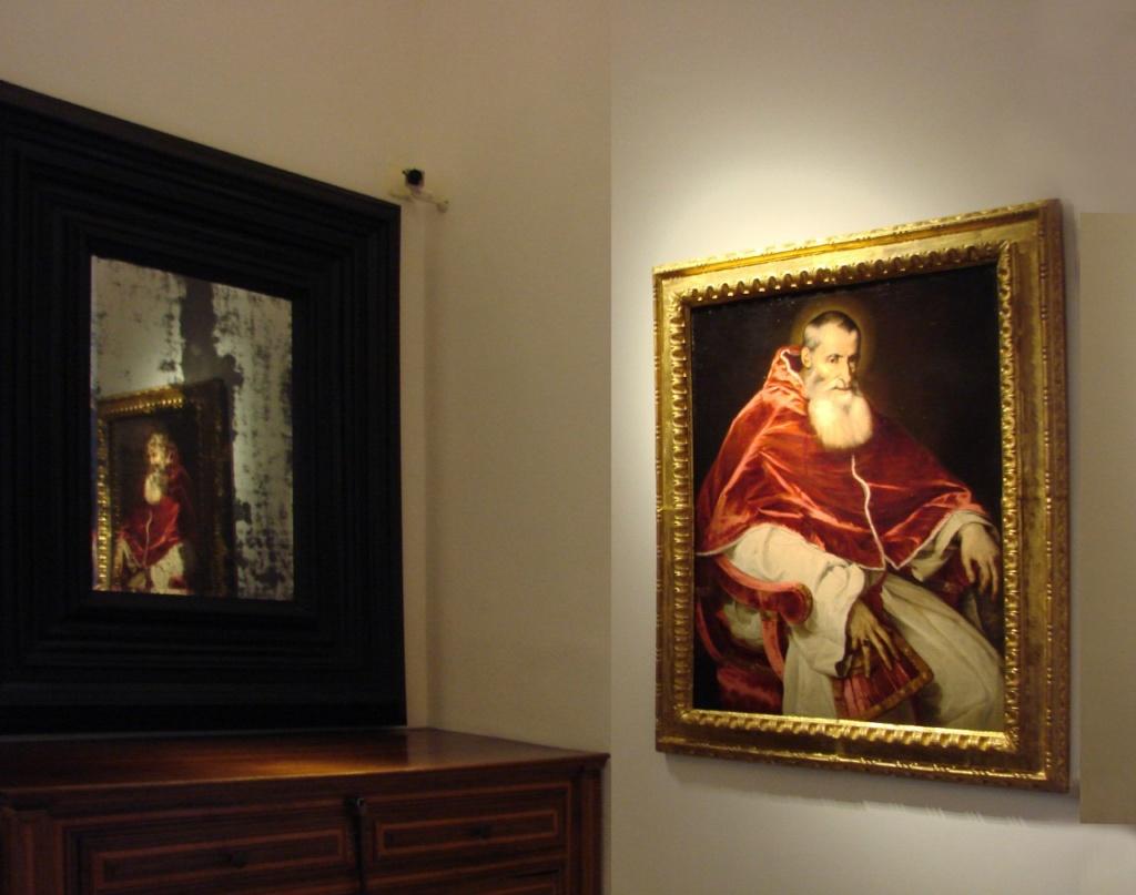 Толедский собор. Ризница, ставшая художественной галереей. Тициан Вечеллио. (1489-1576) Портрет Римского папы Павла III.
