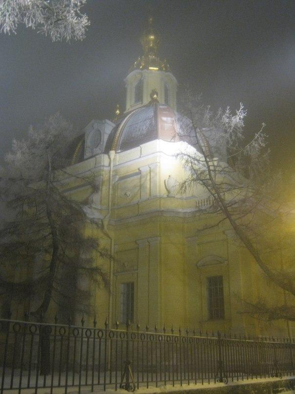 Великокняжеская усыпальница в Петропавловской крепости. 27 декабря 2012г.