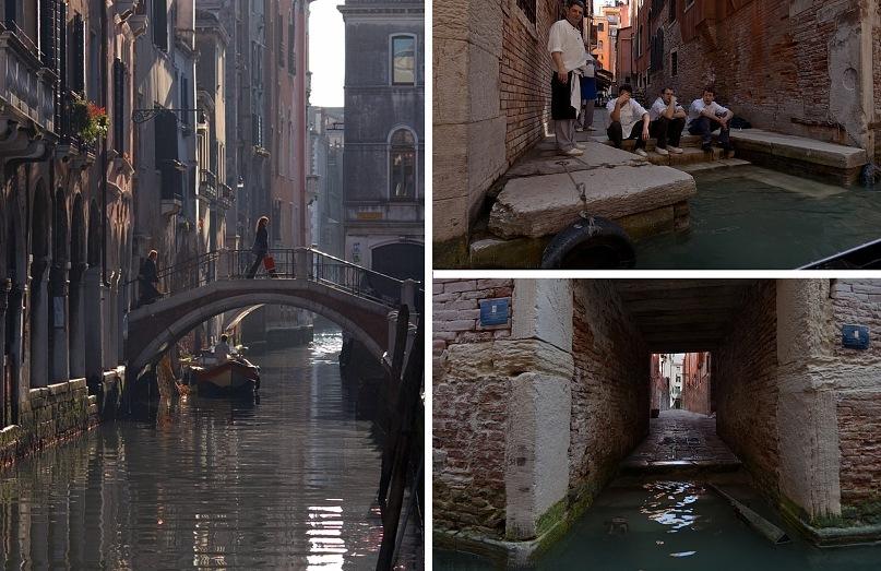 """""""Недра Венеции"""" (по Томасу Манну) - бесконечная вязь каналов, соединенных мостиками."""