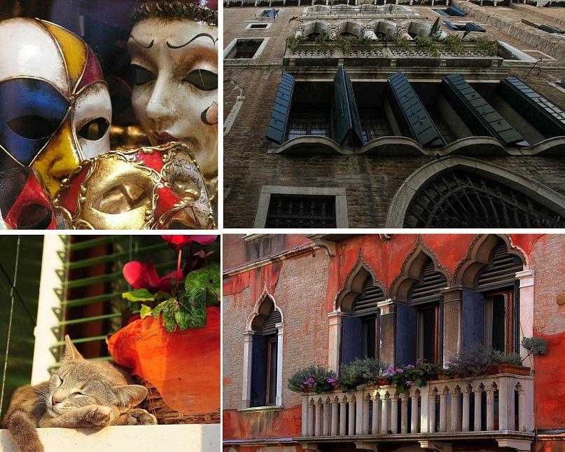"""Венецианские """"недра"""", выставляющие напоказ свое мнимое великолепие, не обманывающие лишь зоркий глаз, способный видеть сути..."""