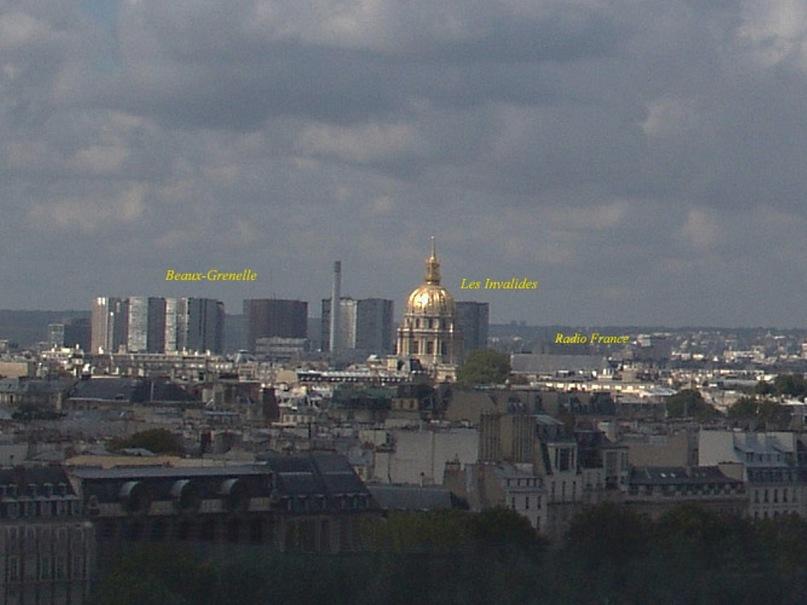 Круговая панорама Парижа. Фрагмент 6. Увеличение.
