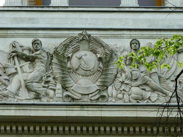 Здание Советского, ныне – Российского Посольства в Германии.